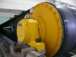 Rulmeca trommelmotor bulk handling