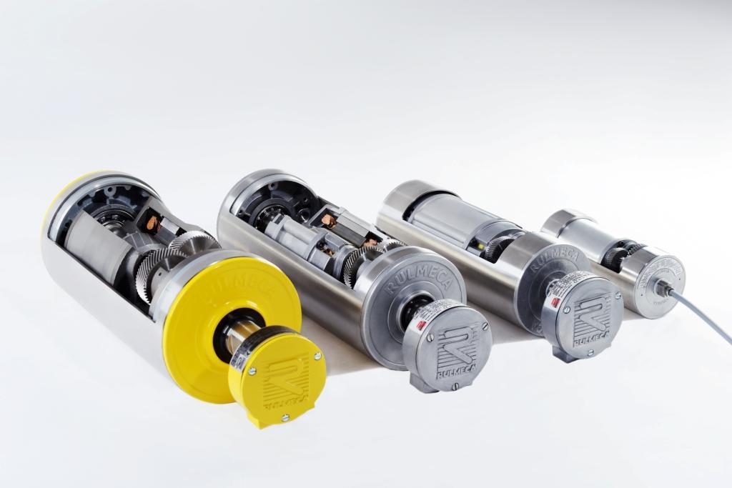 Rulmeca trommelmotoren TM80 TM113 TM138 TM165