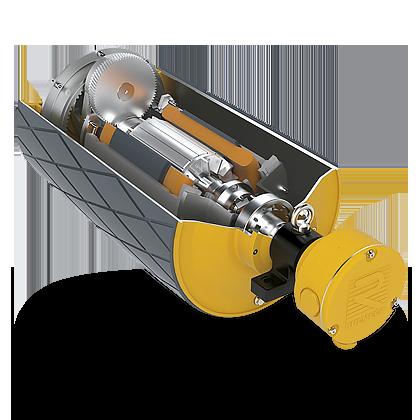 gemotoriseerd trommelmotor